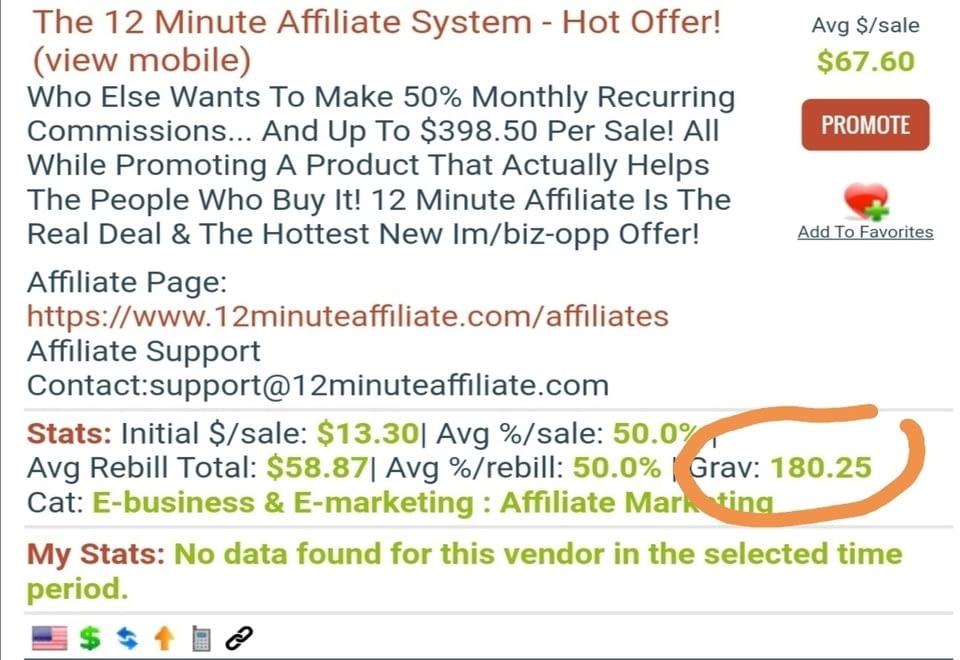 12 min affiliate
