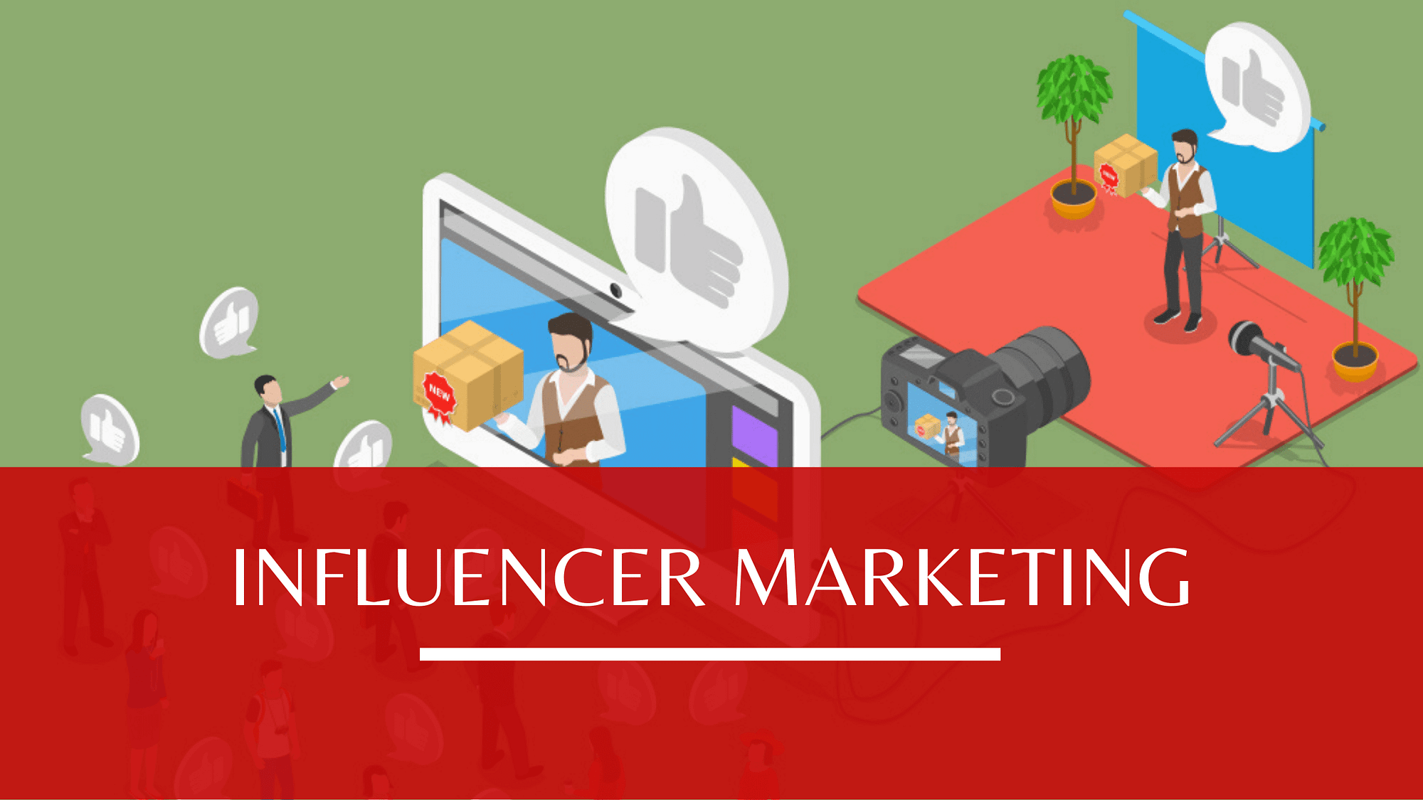 What is influencer marketing