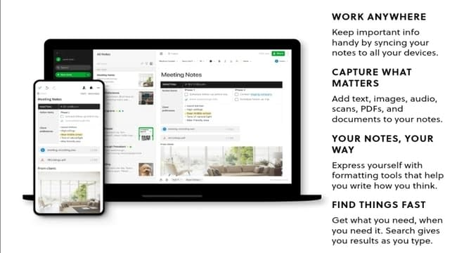 Blogging tools evernote