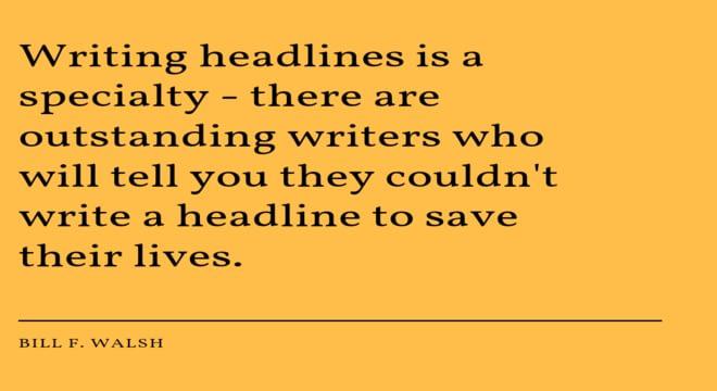 Headlines quote